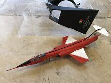 2004 LOCKHEED F-104S STARFIGHTER DIECAST PLANE 1:100 Scale