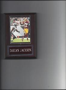DeSEAN JACKSON PLAQUE WASHINGTON REDSKINS FOOTBALL NFL