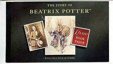 More details for dx15 (ga3472-465) 1993 prestige booklet - beatrix potter mint