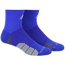 ADIDAS Menace Climalite Traxion High Quarter Socks Men's sz M Medium (6.5-9)