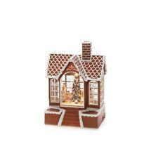 Konst Smide LED Water Lantern - Christmas Gingerbread House