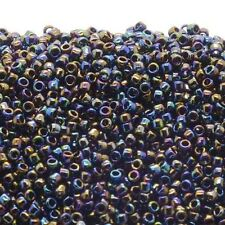Toho Seed Beads 15/0 - Metallic Rainbow Iris - 10g