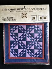 Amish Heritage Collection Ann Dezendorf Jacob Toby Display Quilts Mini Willitts