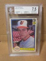 1982 Donruss #405 Cal Ripken Jr. RC BGS 7.5 NM Near Mint 9.5 Subs Orioles Rookie