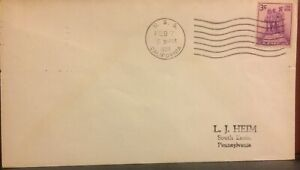 DEFENDED HERSELF AT PEARL-SUNK USS CALIFORNIA 1939 NAVAL POSTAL HISTORY COVER
