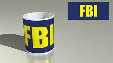 FBI 2 Tazza Da Caffè Tè/regalo birthday
