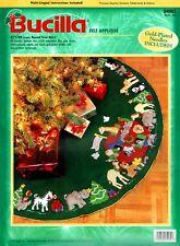 "Noah's Ark 43"" Bucilla Felt Christmas Tree Skirt Kit #84082"