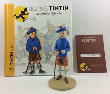 Collection officielle figurine Tintin Moulinsart 22 Tintin en Kilt