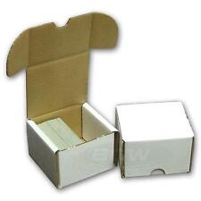 10x BCW 200 CT COUNT Corrugated Cardboard Storage Box - Sport Trading Card Boxes
