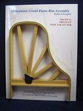 Vintage Kohler & Campbell Piano Salesman Sample Grand Piano Rim Assembly Display