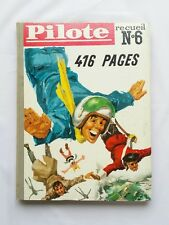 Recueil Journal Pilote Asterix 6 de 66 à 78 + Pilotoramas / EO 1961 ALBUM BD