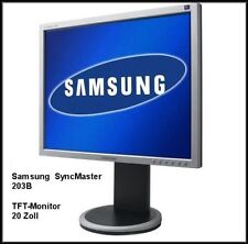 Samsung - SyncMaster 203B - 51 cm (20 Zoll) 4:3 - LCD Monitor - Silbergrau