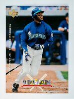 Ken Griffey Jr #6 (1995 Upper Deck) National Packtime, Seattle Mariners, HOF