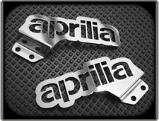 Heel Plates for APRILIA RS4 125 - 2011 to 2015 - Polished Foot Guards