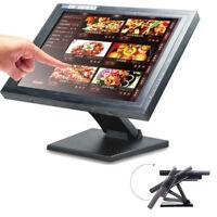 "15"" Touch Screen USB VGA LED TouchScreen Monitor Retail Kiosk Restaurant Bar USA"