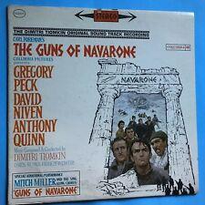Soundtrack-The Guns of Navarone--Dimitri Tiomkin-1961 Columbia Stereo  VG++