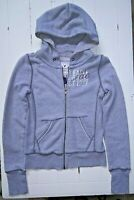 American Eagle long sleeved gray zippered sweat jacket hoodie women's size XS