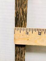"1"" x 12"" Black Palm Pool Cue Blanks,Turning Wood, Gun Knife Scales Free Shipping"