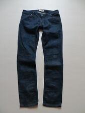 Only Straight Auto Low Jeans NEU W26-W32 L32 Damen Hose Stretch Blau Dark Used
