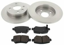 For Vauxhall Astra Meriva German Quality Pair Of Rear Brake Discs Pads Set 240mm