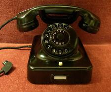 Telefon W48 SIEMENS Telephone Bakelit  Fernsprecher  W48