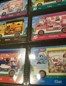 Sanrio Animal Crossing Amiibo Cards #S1-S6 US, Mint, Authentic! (Choose cards)