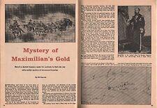 Maximillian* Gold at Horsehead Crossing in Texas+Carson*