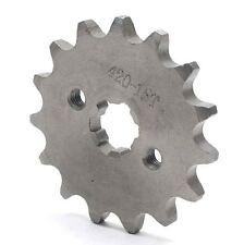 Pignon Sortie Boite 15 dents  d 17  Chaine 420 Pit Bike