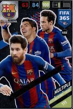 Fifa 365 Cards 2018 - 448 - Messi / Suarez / Neymar Jr - Multiple