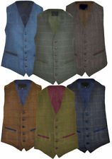Unbranded Button Big & Tall Waistcoats for Men