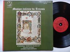 Musique italienne du Trecento HORTUS MUSICUS ANDRES MOUSTONEN LDX 78665