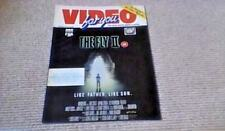 VIDEO FOR YOU 1990 THE FLY II CYBORG WILT INDIANA JONES AND THE LAST CRUSADE VHS