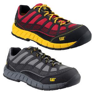 CAT Caterpillar Streamline S1P Mens Safety Composite Toe Cap Shoes Trainers