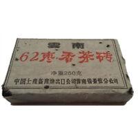 1962 Year 250g Chinese Yunnan Puer Tea Brick Ancient Pu-erh Health Tea