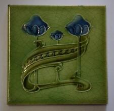 Antique Art Nouveau Tile by T and R Boote c1905
