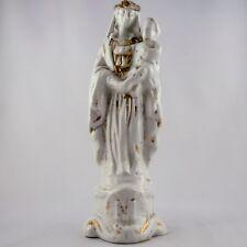 Ancienne VIERGE A L'ENFANT Figurine PORCELAINE de PARIS limoges/sevres/19ème...