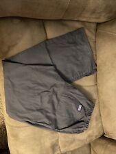 cherokee workwear flare scrub pants dark grey size small