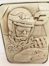 Nascar memorobilia Dale Earnhardt sport sculpt plaque tin back 50th Anniversary