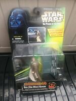 Star Wars Power of the Force -  Obi-wan figure with Electronic Power FX