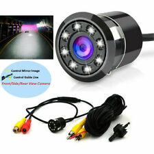 8 LED Backup Camera Car Parking Rear View Reverse 170° Night Vision Waterproof