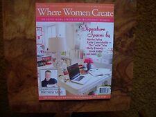 Where Women Create May/June/July 2012