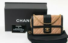 VERIFIED Authentic CHANEL Quilted Lambskin Elegant CC WOC Wallet on Chain Bag