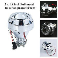 "1.8""Car Micro H1 Bi Xenon Bulb Projector Double Lens Hi/Lo Beam Headlight Safety"