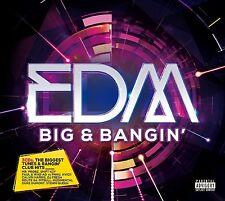 EDM Big & Bangin' 3-CD SEALED/NEW Pitbull Miley Cyrus Shift K3y Fatboy Slim