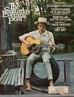 1968 Saturday Evening Post November 2-Bob Dylan; Decline & fall of the Democrats