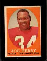 1958 TOPPS #93 JOE PERRY EX 49ERS  *X00630