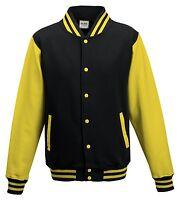 Mens Boys Unisex Varsity Letterman University College Baseball Jacket 3-4 - XXXL