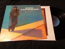 Don Johnson Heartbeat On Epic LP