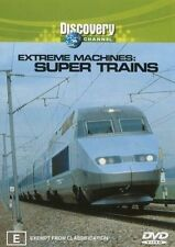 Extreme Machines - Super Trains (DVD, 2003)-FREE POSTAGE