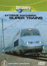 Extreme Machines - Super Trains (DVD, 2003) - Region 4